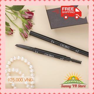 Kẻ mày Hàn Quốc [FreeShip] Sculpting Eyebrow Pencil Ciciro 💖 Giúp cho đường kẻ long lanh, sắc nét và bền màu.