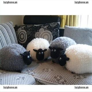 {lazy} White/Gray Sheep Character Stuffed Soft Plush Toys Kids Baby Toy Or Cushion{bone}