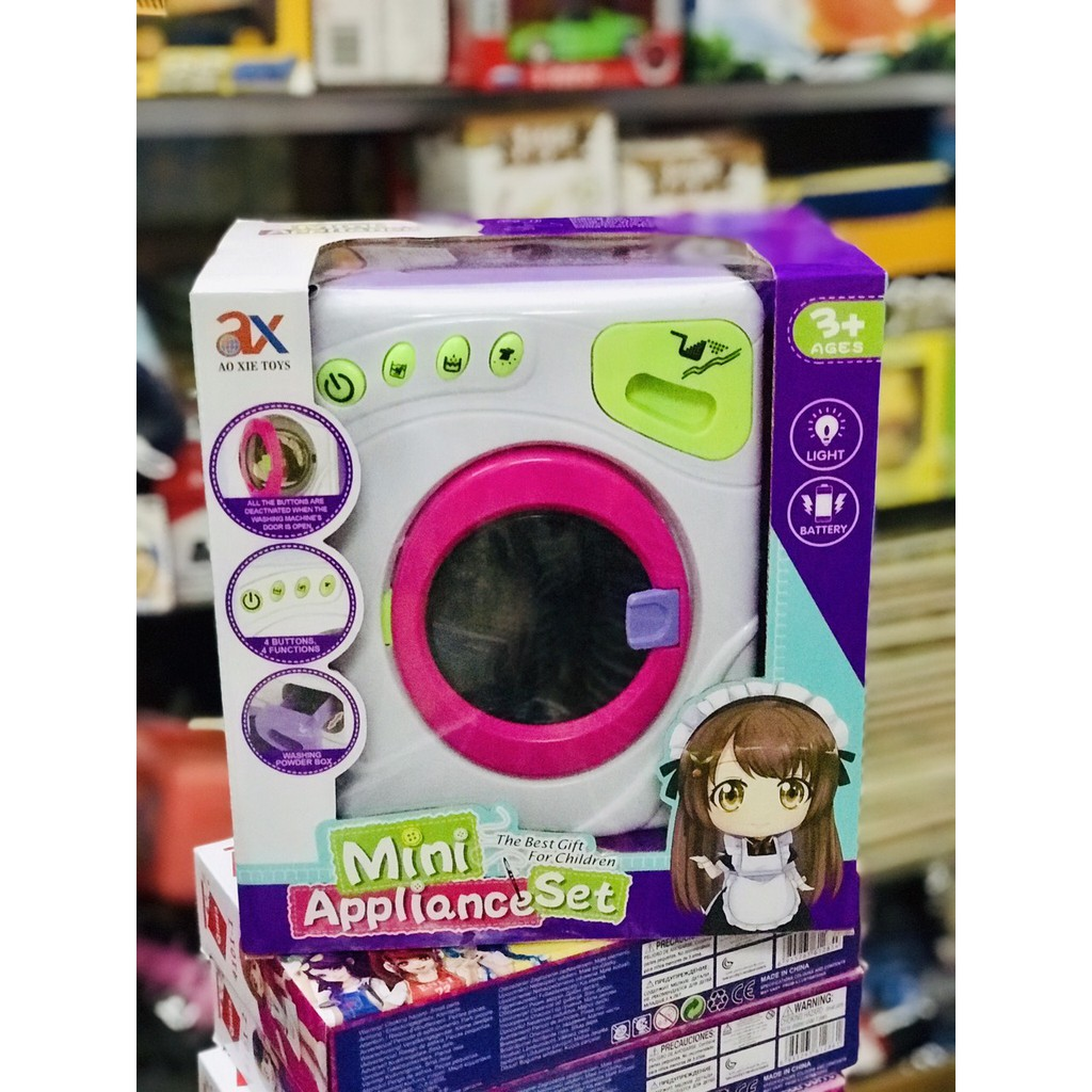 Rẻ Vô Địch] Đồ Chơi Máy Giặt Mini Cho Bé giá cạnh tranh