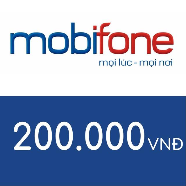 Mã thẻ điện thoại Mobifone 200K