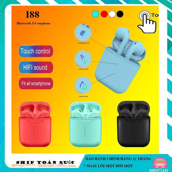 【❤️ I88 ❤️】Tai nghe Bluetooth I88/I7/I3 không dây 5.0 dành cho IOS & ANDROID-Thông minh -Nhét tai không dây Mini
