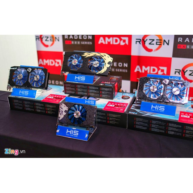 Card rx 580oc 8gb mạnh hơn rx 580 8gb thường bảo hành 1 năm Giá chỉ 1.900.000₫