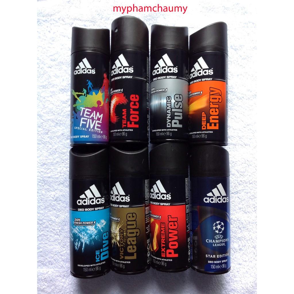 Xịt Khử Mùi Adidas