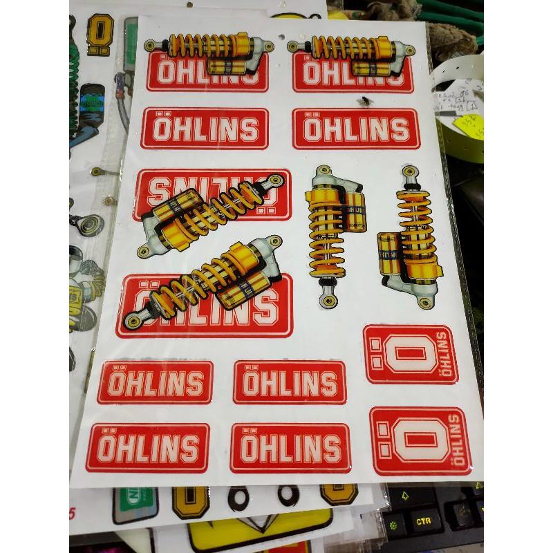 Sticker Nổi PVC Hình Phuộc Oline Siêu Đẹp