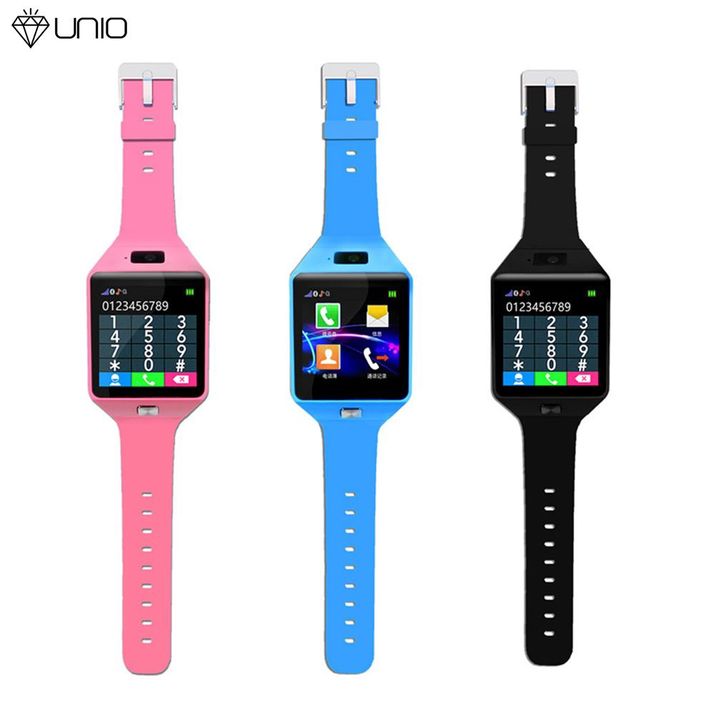 Đồng hồ thông minh màn hình cảm ứng 1.54 inch thiết kế dễ thương cho bé