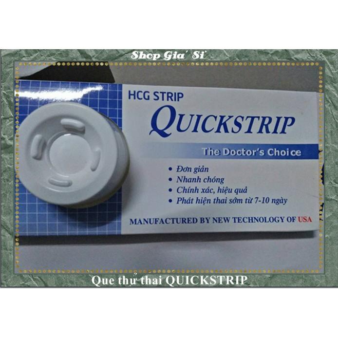 Sỉ 5 Que thử thai quickstrip,quickseven