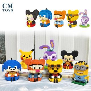 Bộ Lắp Ghép Khối Hoạt Hình Chengmei Mini thumbnail