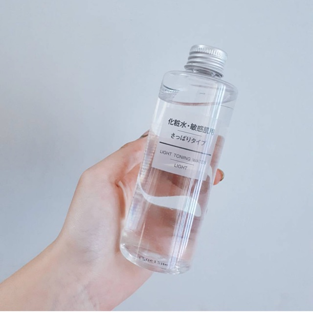 Nước Hoa Hồng Muji Light Toning Water High Moisture 200ml - 3184006 , 581778933 , 322_581778933 , 260000 , Nuoc-Hoa-Hong-Muji-Light-Toning-Water-High-Moisture-200ml-322_581778933 , shopee.vn , Nước Hoa Hồng Muji Light Toning Water High Moisture 200ml