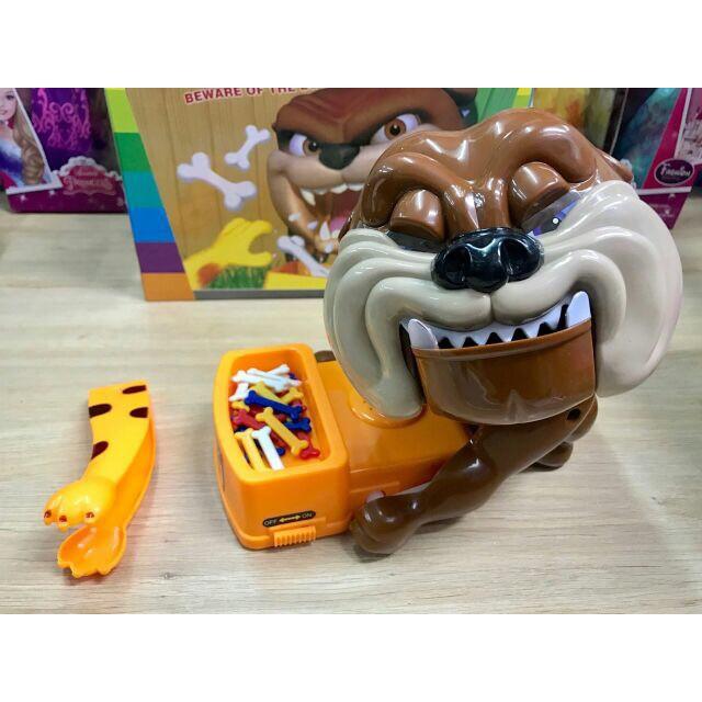 [CÓ SẴN] Trò chơi Chó giữ xương - Trộm xương chó Loại lớn: Dùng pin, có nhạc (loại gắp xương)