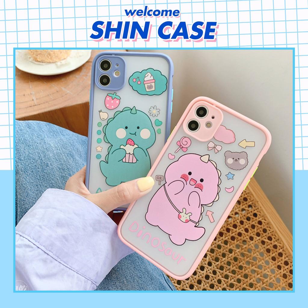 Ốp lưng iphone Cute Dino 5s/6/6plus/6s/6s plus/6/7/7plus/8/8plus/x/xs/xs max/11/11 pro/11 promax – Shin Case