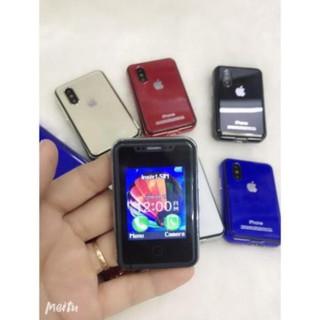Điện thoại mini i8, siêu nhỏ thiết kế giống iPhone X thumbnail