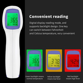 Nhiệt kế điện tử hồng ngoại cảm biến đa chức năng / nhiệt kế hồng ngoại mặt trước