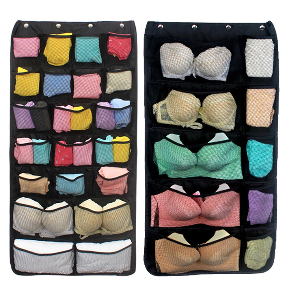 ↨COD↨42/31-Pocket Wardrobe Hanging Sockderwear bakinggPouch