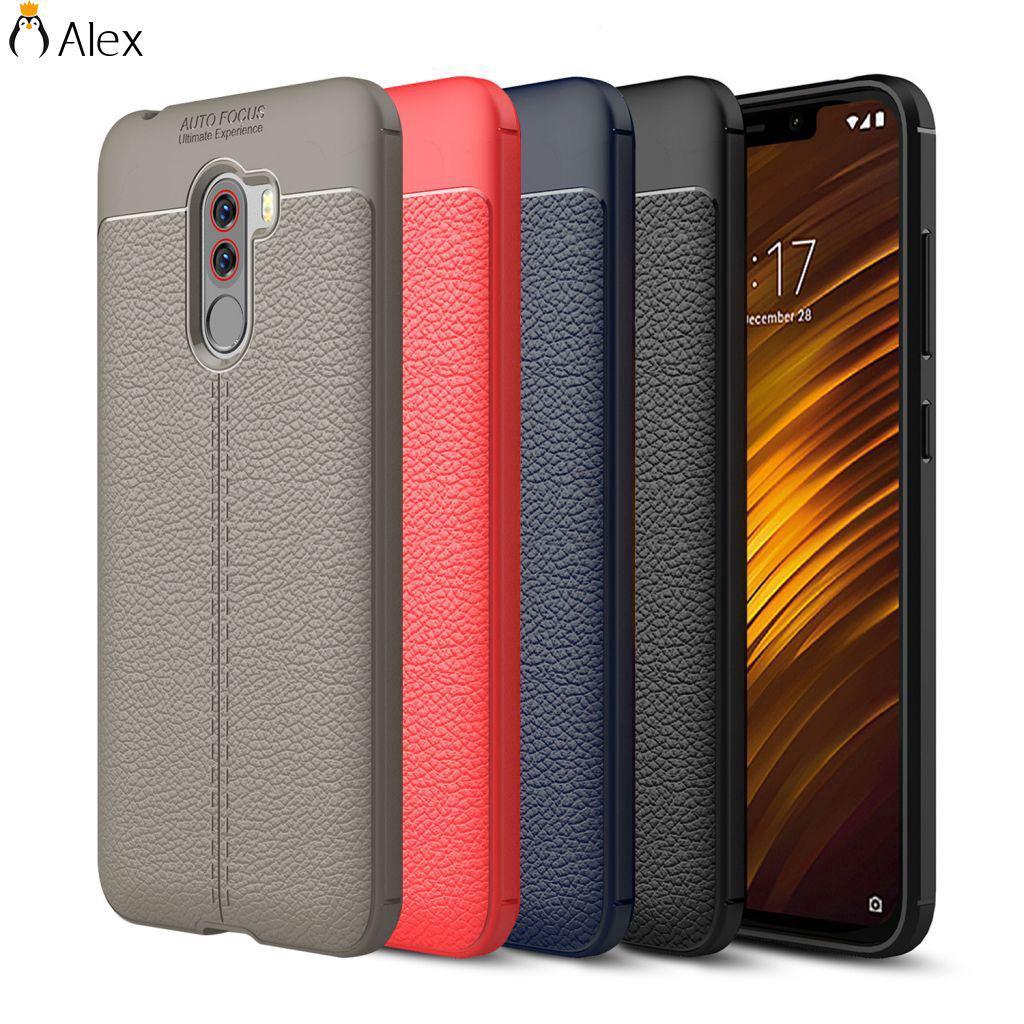 Custodia Phone Case Per Xiaomi PocophoneF1 Back Cover TPU Silicone ALVN
