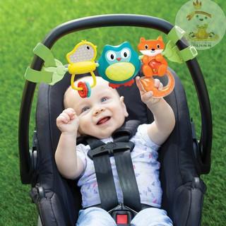 Thanh đồ chơi treo nôi, cũi, xe đẩy, ghế ngồi ô tô hình chim có nhạc Infantino (Mỹ) thumbnail