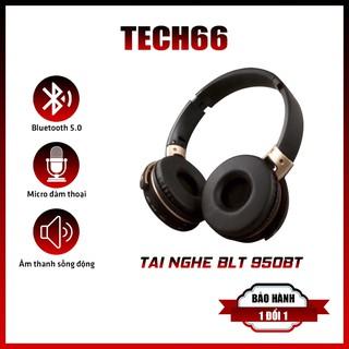 Tai Nghe Bluetooth 950BT, Tai Nghe Chụp Tai Âm Thanh Hay, Siêu Bass Không Dây, Có Khe Cắm Thẻ Nhớ Cổng 3.5, Chống Ồn Tốt thumbnail