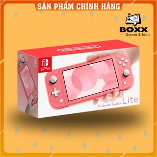 Máy chơi game Nintendo Switch Lite - Màu Coral, bảo hành 12 tháng kèm quà tặng thumbnail