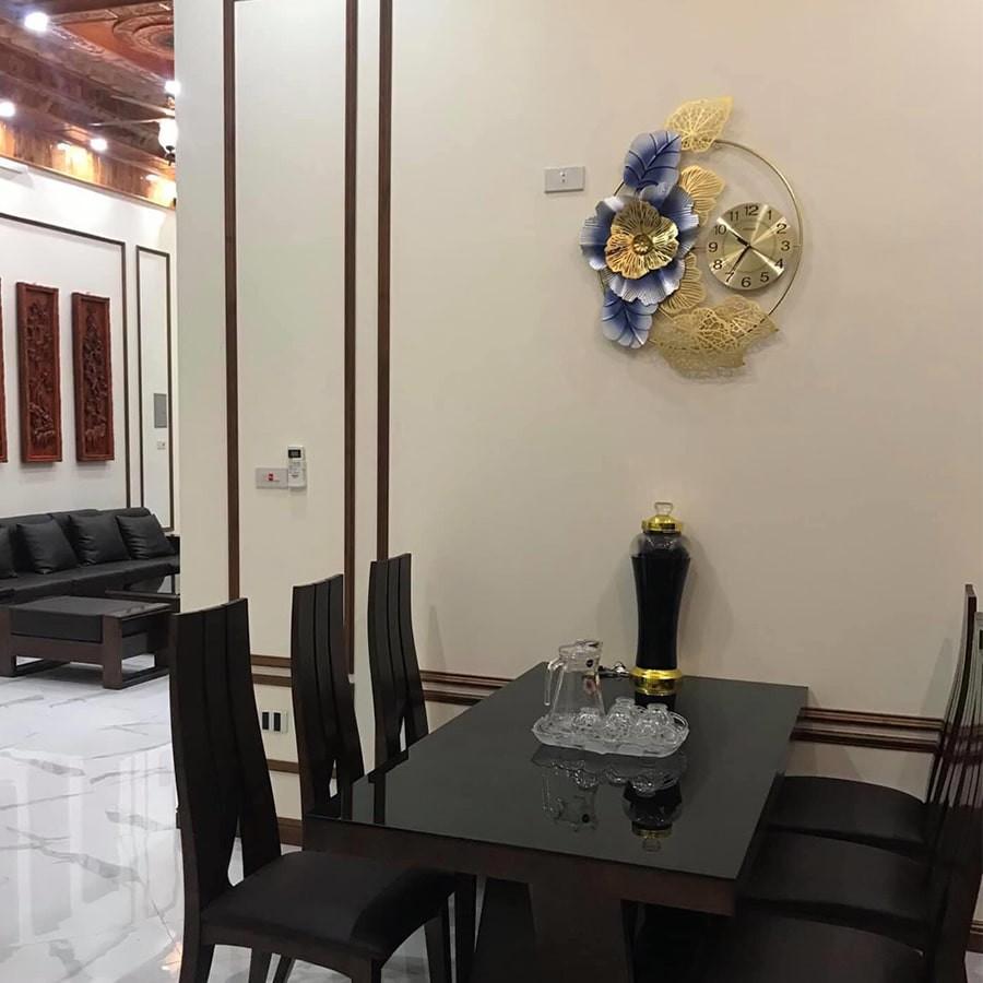 Đồng Hồ Treo Tường kim trôi Shouse DC225 hiện đại trang trí nghệ thuật phòng khách cỡ lớn