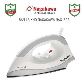 Bàn là khô Nagakawa NAG1502 (Xám ghi) thumbnail
