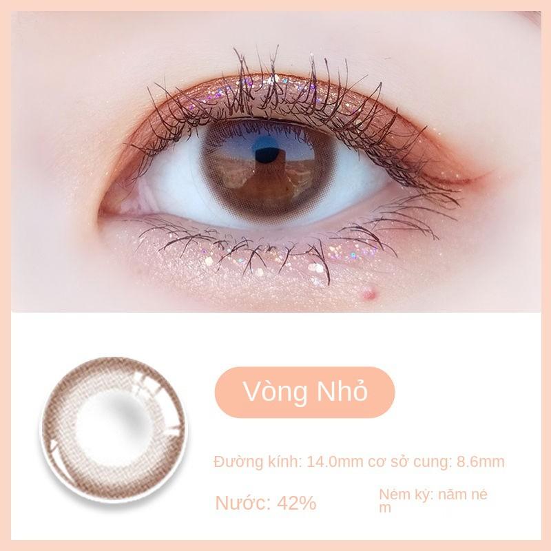 Korea authentic] Kolebo net nổi tiếng cùng loại kính áp tròng nữ đường nhỏ dành cho học sinh cận thị...