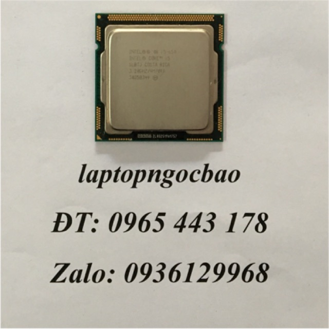 Cpu i5-650 [dùng main h55 ]Socket 1156