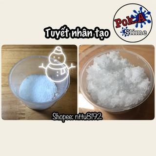 Tuyết nhân tạo siêu mịn – sỉ 1kg – nguyên liệu slime [Hot