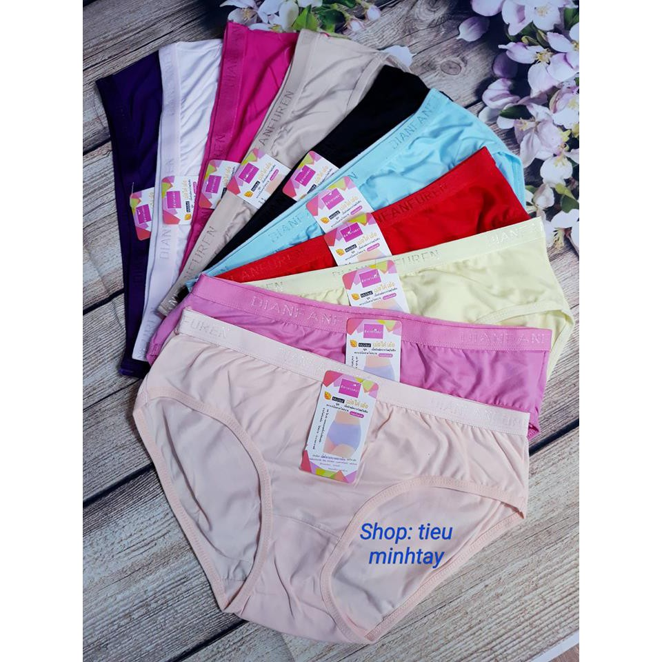 Combo 10 quần lót nữ cotton mềm mịn cho người béo MS32 có 2 size từ 38 - 70kg - 9938252 , 1182014670 , 322_1182014670 , 200000 , Combo-10-quan-lot-nu-cotton-mem-min-cho-nguoi-beo-MS32-co-2-size-tu-38-70kg-322_1182014670 , shopee.vn , Combo 10 quần lót nữ cotton mềm mịn cho người béo MS32 có 2 size từ 38 - 70kg