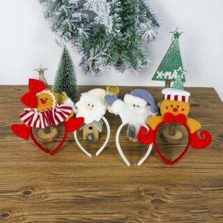 Cài đầu Noel 4 kiểu như hình