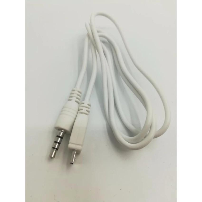 Cáp audio kết nối âm thanh cho Mic và điện thoại - 22136856 , 2351043997 , 322_2351043997 , 18000 , Cap-audio-ket-noi-am-thanh-cho-Mic-va-dien-thoai-322_2351043997 , shopee.vn , Cáp audio kết nối âm thanh cho Mic và điện thoại