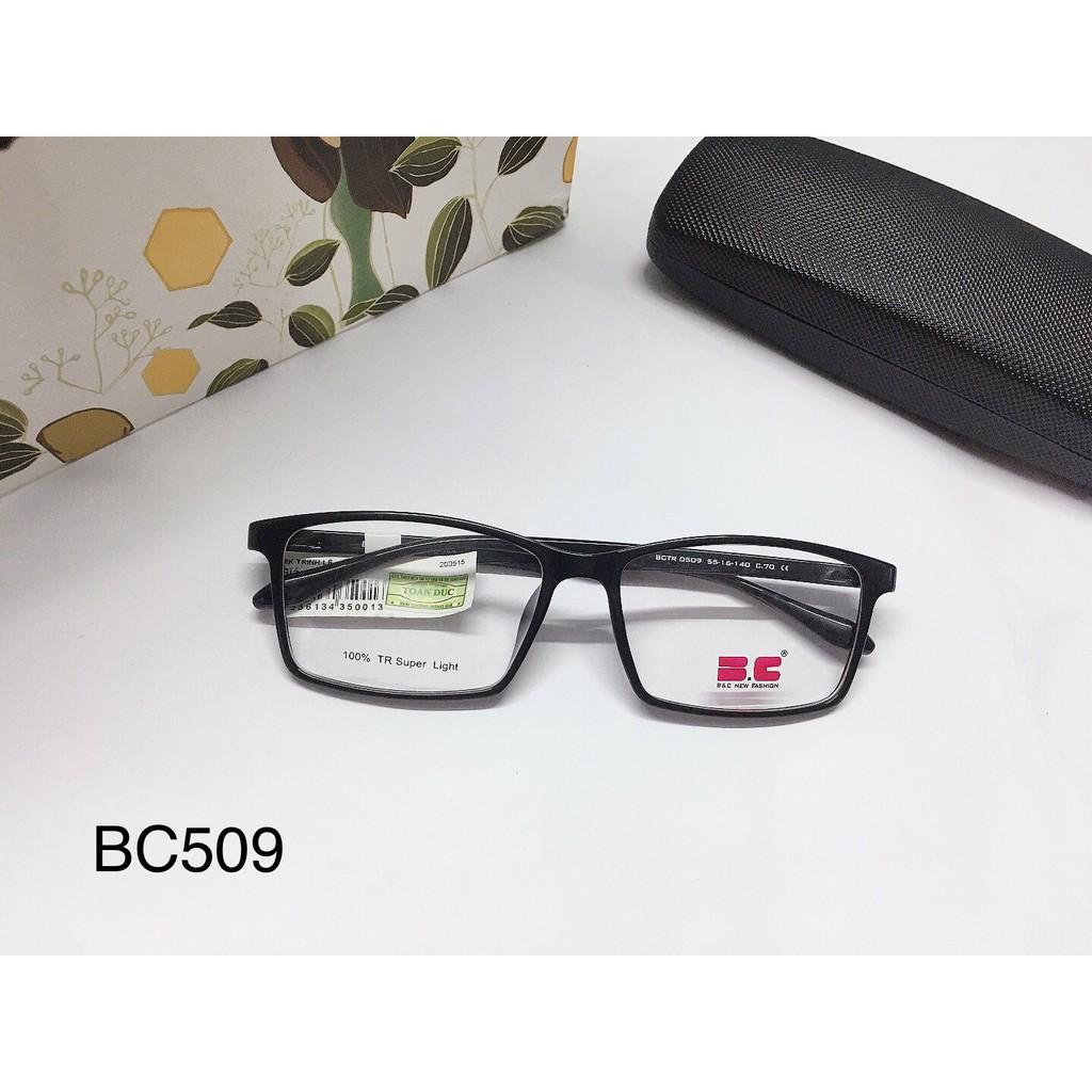 Giá bán Gọng Kính Nhựa Dẻo Dạng Vuông Chính Hãng Bc509 Hàn Quốc