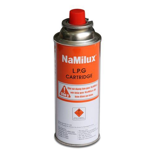 Bình (lon) gas mini Namilux 520ml