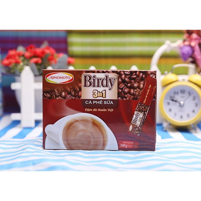 Cà phê hòa tan 3in1 Birdy Ajinomoto hộp 340g (20 gói) - 2424427 , 116735272 , 322_116735272 , 49000 , Ca-phe-hoa-tan-3in1-Birdy-Ajinomoto-hop-340g-20-goi-322_116735272 , shopee.vn , Cà phê hòa tan 3in1 Birdy Ajinomoto hộp 340g (20 gói)