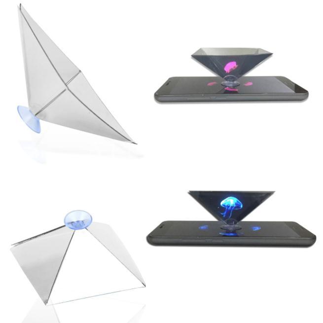 Phụ kiện tạo hiệu ứng 3D Holographic cho điện thoại 3.5-6inch