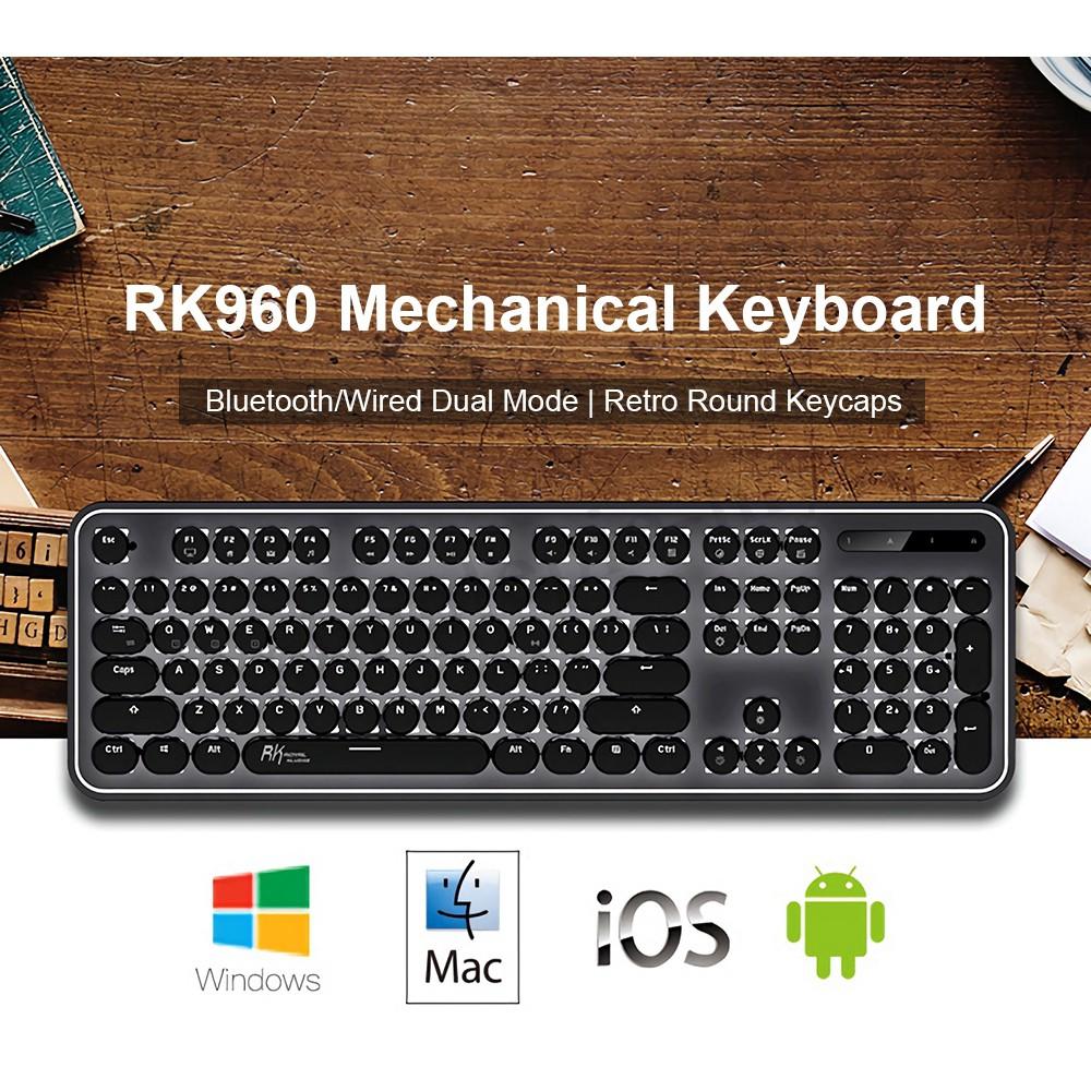 Bàn phím cơ Bluetooth / Usb Royal Kludge RK967 ♥️Freeship♥️ Bàn phím không dây RK967