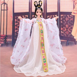 ✔M-Traditional Chinese Classical Style Barbie Doll Costume Chinese Ancient