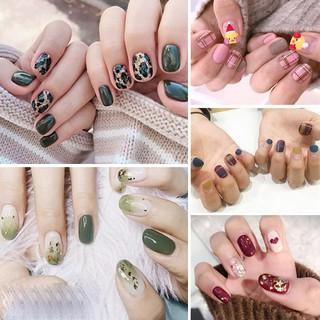 UNI Nail Wraps Set Dán móng tay 14 miếng nhiều mẫu thumbnail