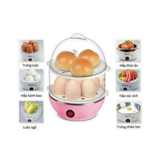 Máy hấp trứng Hâm Nóng Thức Ăn 2 Tầng đa dụng bảo hành 3 tháng thumbnail