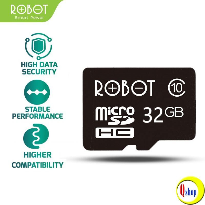 Thẻ Nhớ Micro SD ROBOT TF Card 32Gb Chính hãng