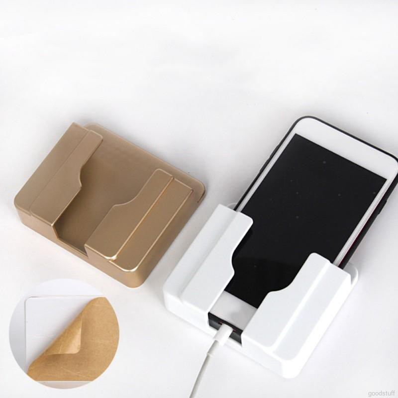 Kệ gắn tường để điện thoại khi sạc tiện lợi