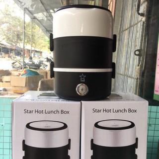 Hộp cơm hâm nóng Star 3 tầng cao cấp, nồi cơm mini  đa năng 3 tầng tiện dụng - Bảo Hành 12 tháng