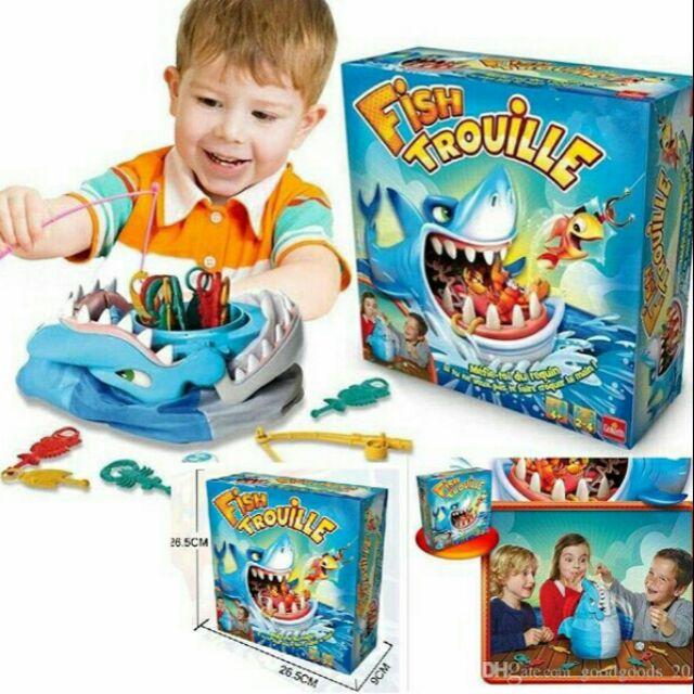 Bộ đồ chơi cá mập gặm xương cực hot cho các bé