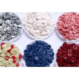 Cúc áo nhiều màu- nguyên liệu hamade- Cúc áo đẹp giá rẻ