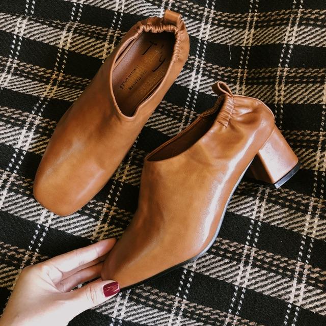 Giày bo chun gót 5cm