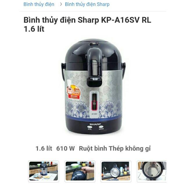 Bình thủy điện sharp kp_a16sv rl 1.6 lít - 13644912 , 667166737 , 322_667166737 , 350000 , Binh-thuy-dien-sharp-kp_a16sv-rl-1.6-lit-322_667166737 , shopee.vn , Bình thủy điện sharp kp_a16sv rl 1.6 lít