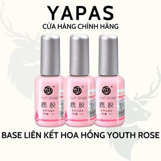 Base hoa hồng Youth Rose chính hãng, gel liên kết móng 15ml chuyên dụng cho dân làm móng thumbnail