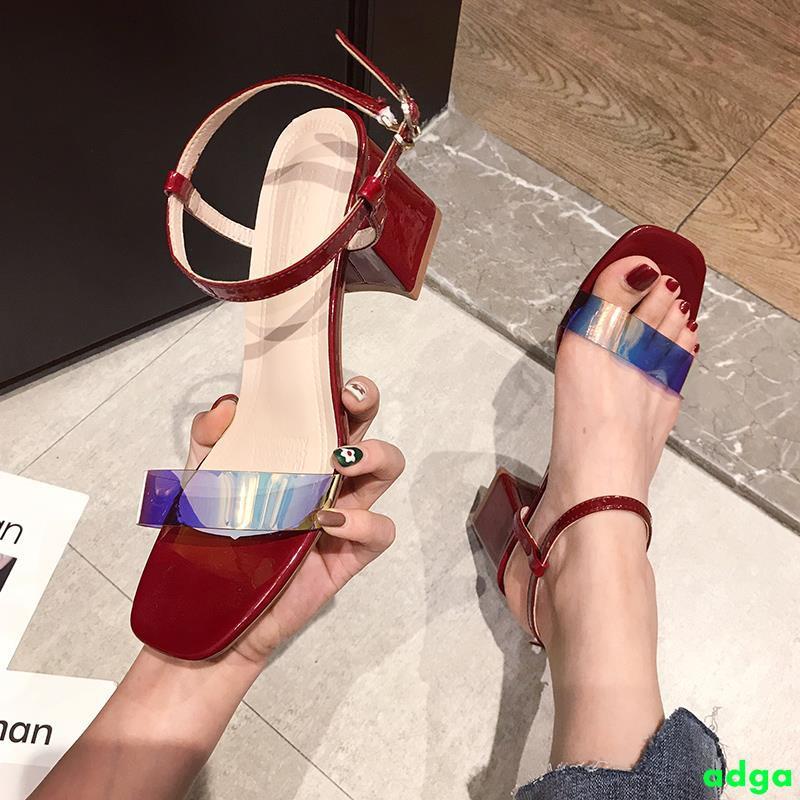 Giày cao gót quai ngang trong suốt phong cách Hàn Quốc dành cho nữ - 14727933 , 2221566794 , 322_2221566794 , 331200 , Giay-cao-got-quai-ngang-trong-suot-phong-cach-Han-Quoc-danh-cho-nu-322_2221566794 , shopee.vn , Giày cao gót quai ngang trong suốt phong cách Hàn Quốc dành cho nữ