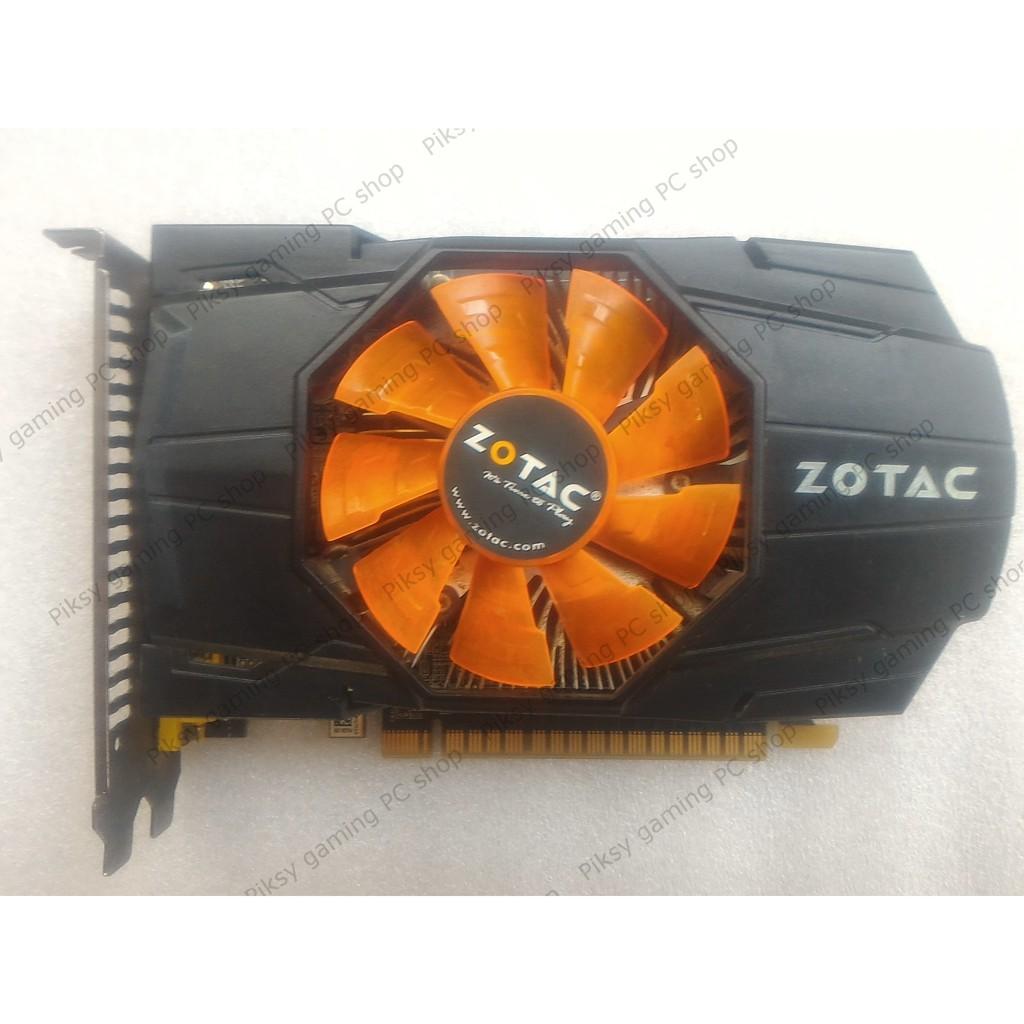 Card màn hình Zotac GeForce GTX 650 1GB GDDR5 (ZT-60911-10B)