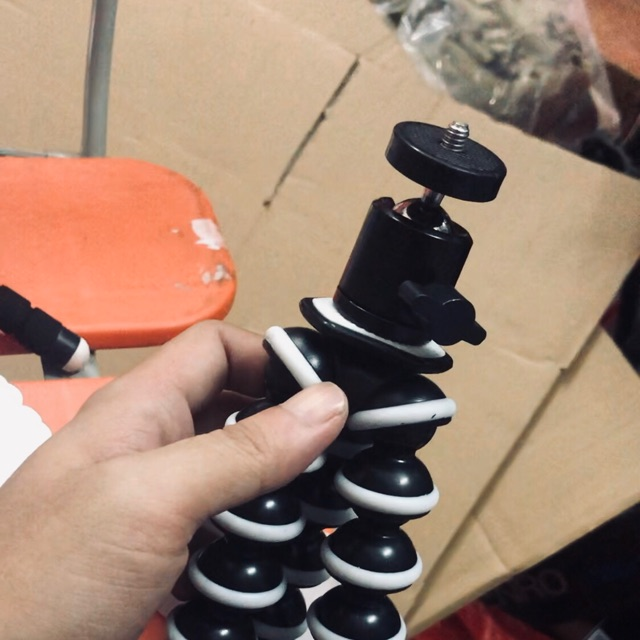 TRIPOD Chân nhện 25cm+đầu bi Q29 cho điện thoại ,máy ảnh