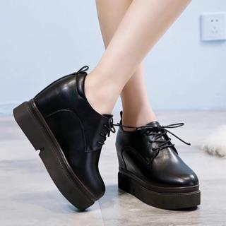 Giày oxford nữ da lỳ siêu cá tính thumbnail