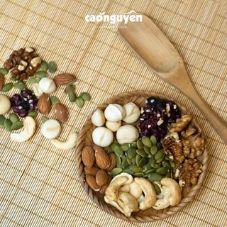 500gr Mix 6 hạt Mixnuts tổng hợp (macca, óc chó vàng, óc chó đỏ, hạt điều, hạnh nhân, bí xanh) ăn kiêng ăn vặt healthy